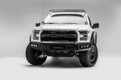 ZROADZ                                             - Ford F-150, Raptor Front Roof LED Kit with 52 Inch LED Curved Double Row Light Bar - PN #Z335662-KIT-C - Image 12