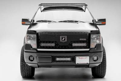 ZROADZ                                             - Ford Front Roof LED Kit, Incl. (1) 52 Inch LED Curved Double Row Light Bar - PN #Z335721-KIT-C - Image 2