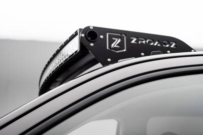 2015-2019 Colorado, Canyon Front Roof LED Bracket to mount (1) 40 Inch Curved LED Light Bar - PN #Z332671 - Image 3