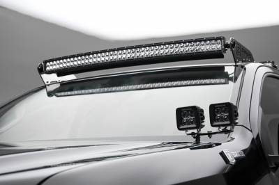 2015-2019 Colorado, Canyon Front Roof LED Bracket to mount (1) 40 Inch Curved LED Light Bar - PN #Z332671 - Image 4