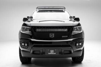 ZROADZ                                             - 2015-2019 Colorado, Canyon Front Roof LED Bracket to mount (1) 40 Inch Curved LED Light Bar - PN #Z332671 - Image 5