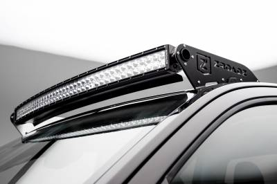 2015-2019 Colorado, Canyon Front Roof LED Bracket to mount (1) 40 Inch Curved LED Light Bar - PN #Z332671 - Image 1