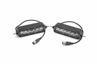 ZROADZ                                             - Ford F-150, Raptor Rear Bumper LED Kit with (2) 6 Inch LED Straight Single Row Slim Light Bars - PN #Z385662-KIT - Image 10
