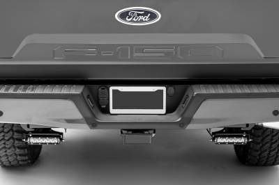 ZROADZ                                             - Ford Rear Bumper LED Kit, Incl. (2) 6 Inch LED Straight Single Row Slim Light Bars - PN #Z385662-KIT - Image 5