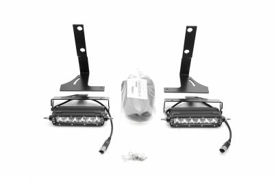 ZROADZ                                             - Ford Rear Bumper LED Kit, Incl. (2) 6 Inch LED Straight Single Row Slim Light Bars - PN #Z385662-KIT - Image 9