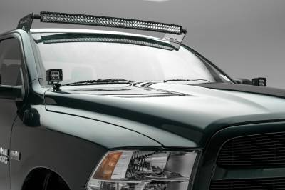Ram Front Roof LED Kit, Incl. (1) 50 Inch LED Curved Double Row Light Bar - PN #Z334521-KIT-C - Image 3