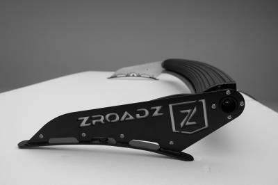 ZROADZ                                             - Silverado, Sierra Front Roof LED Kit, Incl. 50 Inch LED Curved Double Row Light Bar - PN #Z332081-KIT-C - Image 2