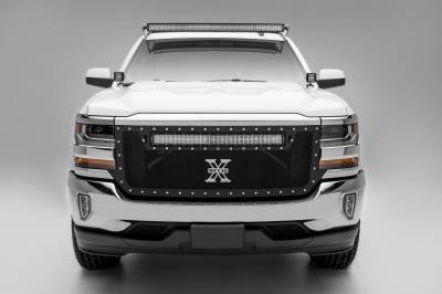 ZROADZ                                             - Silverado, Sierra Front Roof LED Kit with (1) 50 Inch LED Curved Double Row Light Bar - PN #Z332081-KIT-C - Image 7
