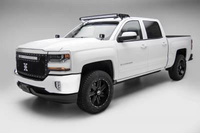 ZROADZ                                             - Silverado, Sierra Front Roof LED Bracket to mount 50 Inch Curved LED Light Bar - PN #Z332081 - Image 1