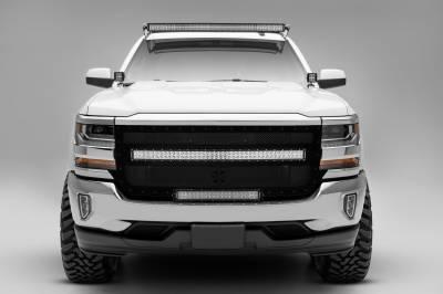 ZROADZ                                             - Silverado, Sierra Front Roof LED Bracket to mount 50 Inch Curved LED Light Bar - PN #Z332081 - Image 5