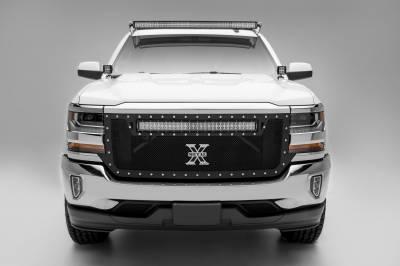 ZROADZ                                             - Silverado, Sierra Front Roof LED Bracket to mount 50 Inch Curved LED Light Bar - PN #Z332081 - Image 7