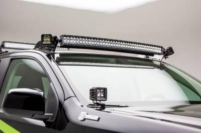 Universal Front Roof LED Bracket to mount (2) 3 Inch LED Pod Lights - PN #Z330001 - Image 2