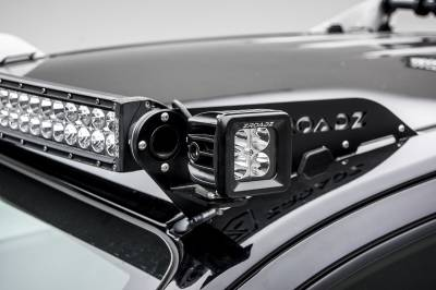 Universal Front Roof LED Bracket to mount (2) 3 Inch LED Pod Lights - PN #Z330001 - Image 9