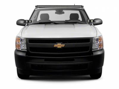 2007-2013 Silverado, Sierra 1500 Front Roof LED Bracket to mount (1) 50 Inch Staight LED Light Bar - PN #Z332151 - Image 1