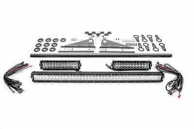 ZROADZ                                             - Modular Rack LED Kit, Incl. (1) 40 Inch (2) 12 Inch Straight Double Row Light Bars - PN #Z350050-KIT-F - Image 4