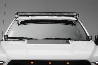 2015-2019 Ford F-150, Raptor Front Roof LED Bracket to mount (1) 52 Inch Straight LED Light Bar - PN #Z335162 - Image 4
