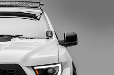 2015-2019 Ford F-150, Raptor Front Roof LED Bracket to mount (1) 52 Inch Straight LED Light Bar - PN #Z335162 - Image 5