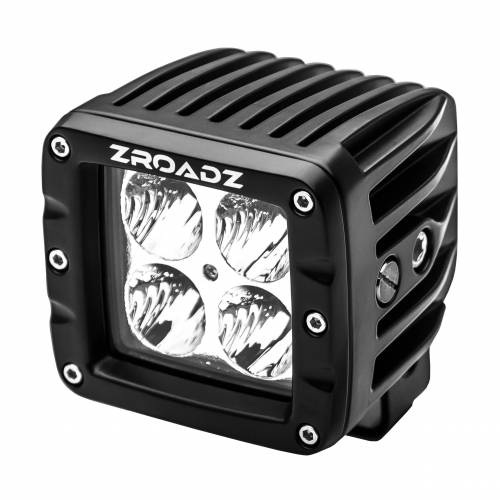 ZROADZ                                             - 3 Inch LED Flood Beam Pod Light - PN #Z30BC14W20 - Image 1