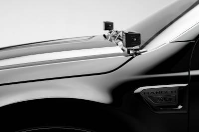 ZROADZ                                             - 2019-2020 Ford Ranger Hood Hinge LED Bracket to mount (2) 3 Inch LED Pod Lights - PN #Z365821 - Image 2