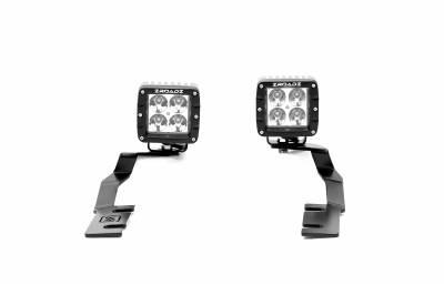 ZROADZ                                             - 2019-2021 Ford Ranger Hood Hinge LED Kit with (2) 3 Inch LED Pod Lights - PN #Z365821-KIT2 - Image 4