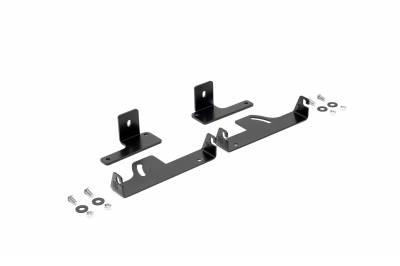 ZROADZ                                             - 2019-2021 Ford Ranger Rear Bumper LED Bracket to mount (2) 6 Inch Straight Single Row Slim Light Bar - PN #Z385881 - Image 7