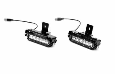 ZROADZ                                             - 2019-2021 Ford Ranger Rear Bumper LED Kit with (2) 6 Inch LED Straight Single Row Slim Light Bars - PN #Z385881-KIT - Image 7