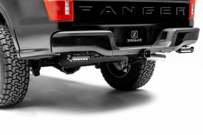 ZROADZ                                             - 2019-2021 Ford Ranger Rear Bumper LED Kit with (2) 6 Inch LED Straight Single Row Slim Light Bars - PN #Z385881-KIT - Image 1