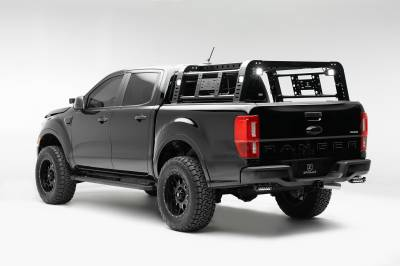 ZROADZ                                             - 2019-2021 Ford Ranger Rear Bumper LED Kit with (2) 6 Inch LED Straight Single Row Slim Light Bars - PN #Z385881-KIT - Image 5
