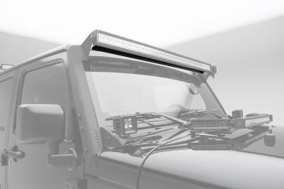 ZROADZ                                             - Noise Cancelling Wind Diffuser for (1) 52 Inch Straight LED Light Bar - PN #Z330052S - Image 2