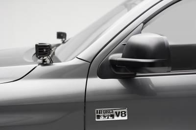 ZROADZ                                             - 2014-2021 Toyota Tundra Hood Hinge LED Bracket to mount (2) 3 Inch LED Pod Lights - PN #Z369641 - Image 1
