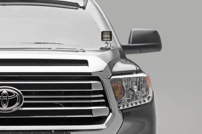ZROADZ                                             - 2014-2021 Toyota Tundra Hood Hinge LED Bracket to mount (2) 3 Inch LED Pod Lights - PN #Z369641 - Image 2
