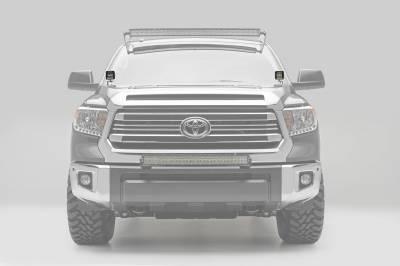 ZROADZ                                             - 2014-2021 Toyota Tundra Hood Hinge LED Bracket to mount (2) 3 Inch LED Pod Lights - PN #Z369641 - Image 3