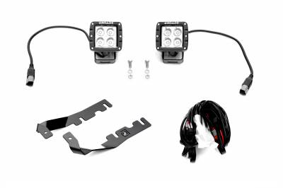 ZROADZ                                             - 2019-2021 Ram 1500 Hood Hinge LED Kit with (2) 3 Inch LED Pod Lights - PN #Z364721-KIT2 - Image 2