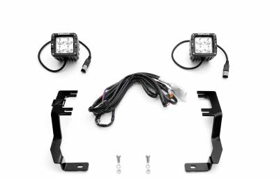 ZROADZ                                             - 2016-2019 Nissan Titan Hood Hinge LED Kit, Incl. (2) 3 Inch LED Pod Lights - PN #Z367581-KIT2 - Image 2