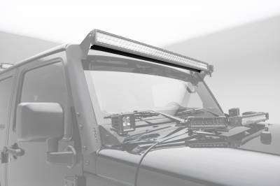 ZROADZ                                             - Noise Cancelling Wind Diffuser for 50 Inch Straight LED Light Bar - PN #Z330050S - Image 2