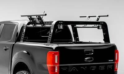ZROADZ                                             - 2019-2021 Ford Ranger Overland Access Rack With Side Gates with (4) 3 Inch ZROADZ LED Pod Lights - PN #Z835101 - Image 1