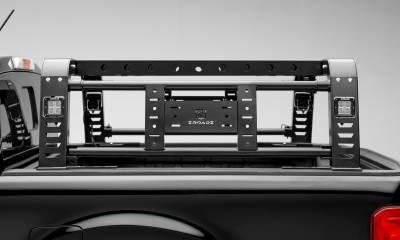 ZROADZ                                             - 2019-2021 Ford Ranger Overland Access Rack With Side Gates with (4) 3 Inch ZROADZ LED Pod Lights - PN #Z835101 - Image 8