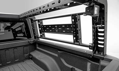 ZROADZ                                             - 2019-2021 Ford Ranger Overland Access Rack With Side Gates with (4) 3 Inch ZROADZ LED Pod Lights - PN #Z835101 - Image 10