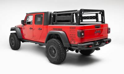 ZROADZ                                             - 2019-2020 Jeep Gladiator Access Overland Rack With Two Lifting Side Gates, Without Trail Rail Cargo System - PN #Z834101 - Image 2