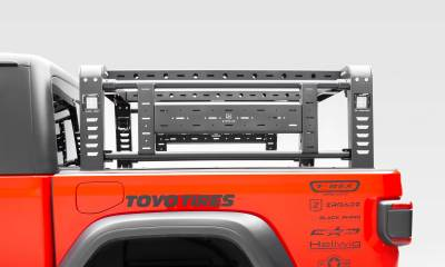 ZROADZ                                             - 2019-2020 Jeep Gladiator Access Overland Rack With Two Lifting Side Gates, Without Trail Rail Cargo System - PN #Z834101 - Image 10