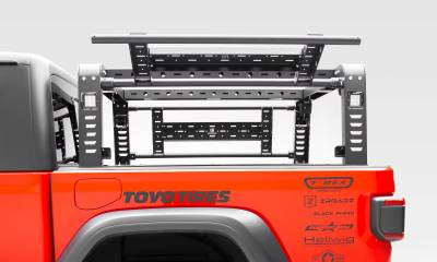 ZROADZ                                             - 2019-2021 Jeep Gladiator Overland Access Rack With Two Lifting Side Gates, Without Factory Trail Rail Cargo System - PN #Z834101 - Image 11