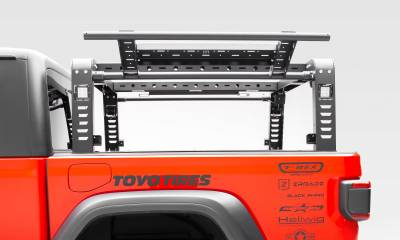 ZROADZ                                             - 2019-2021 Jeep Gladiator Overland Access Rack With Two Lifting Side Gates, Without Factory Trail Rail Cargo System - PN #Z834101 - Image 12