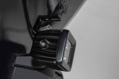 ZROADZ                                             - Universal Panel Clamp LED Bracket to mount (1) 3 Inch LED Pod Light - PN #Z390001 - Image 4