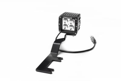 ZROADZ                                             - 3 Inch AMBER LED Flood Beam Pod Light - PN #Z30BC20W-2-E4A - Image 3