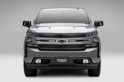 """T-REX GRILLES - 2019-2021 Silverado 1500 ZROADZ Grille, Black, 1 Pc, Replacement with (2) 6"""" LEDs, Does Not Fit Vehicles with Camera - PN #Z311261 - Image 2"""