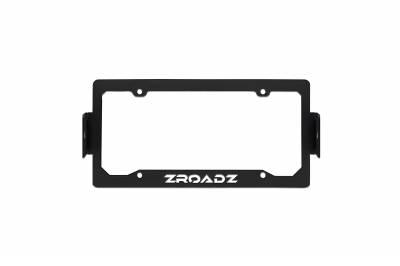 ZROADZ                                             - Universal License Plate Frame LED Kit with (2) 3 Inch LED Pod Lights - PN #Z310005-KIT - Image 6