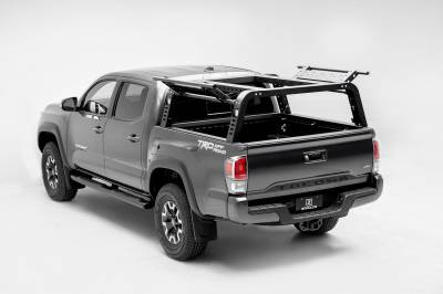 ZROADZ                                             - 2016-2021 Toyota Tacoma Overland Access Rack With Side Gates with (4) 3 Inch ZROADZ LED Pod Lights - PN #Z839101 - Image 1