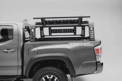 ZROADZ                                             - 2016-2021 Toyota Tacoma Overland Access Rack With Side Gates with (4) 3 Inch ZROADZ LED Pod Lights - PN #Z839101 - Image 5