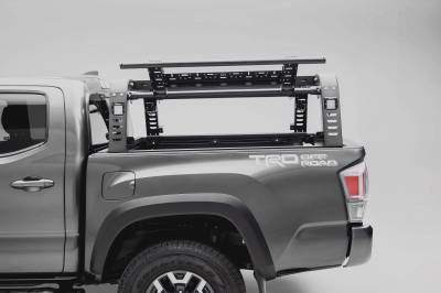 ZROADZ                                             - 2016-2021 Toyota Tacoma Overland Access Rack With Side Gates with (4) 3 Inch ZROADZ LED Pod Lights - PN #Z839101 - Image 6