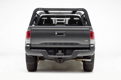 ZROADZ                                             - 2016-2021 Toyota Tacoma Overland Access Rack With Side Gates with (4) 3 Inch ZROADZ LED Pod Lights - PN #Z839101 - Image 8
